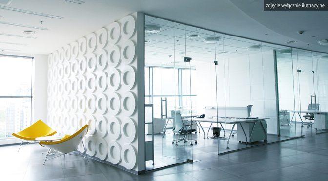 przykładowe wnętrze nowoczesnego lokalu biurowego do wynajęcia we Wrocławiu