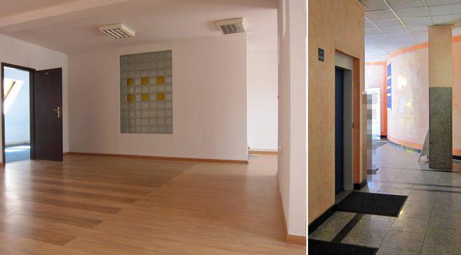 przestronne, komfortowe wnętrze lokalu biurowego do wynajmu we Wrocławiu