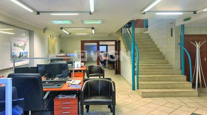 widok na przestronny lokal biurowy do wynajmu we Wrocławiu