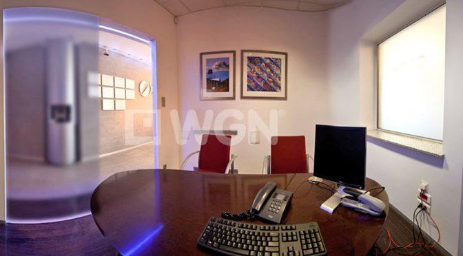 luksusowe wnętrze komfortowego lokalu biurowego do wynajmu we Wrocławiu