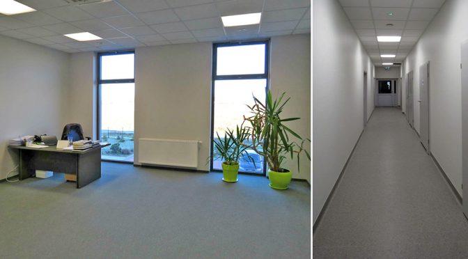 komfortowy wnętrze lokalu biurowego do wynajmu we Wrocławiu (Krępice)