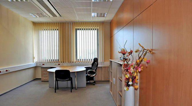 ekskluzywne wnętrze lokalu biurowego do wynajmu we Wrocławiu (Siechnice)