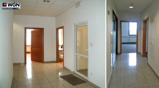 komfortowe wnętrze lokalu biurowego we Wrocławiu na wynajem