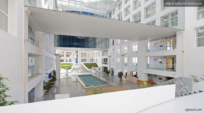 przykładowe wnętrze ekskluzywnego lokalu biurowego we Wrocławiu na wynajem
