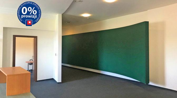 ekskluzywne wnętrze lokalu biurowego we Wrocławiu na wynajem