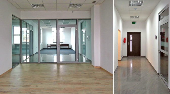 przestronne i komfortowe wnętrze lokalu biurowego do wynajmu Wrocław