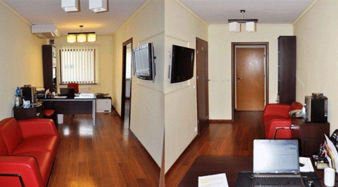 korytarz / hall w lokalu biurowym do wynajęcia Wrocław