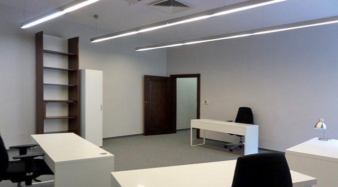 nowoczesne wnętrze lokalu biurowego do wynajmu Wrocław Stare Miasto