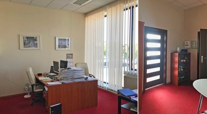 wnętrze komfortowego lokalu biurowego do wynajęcia Wrocław