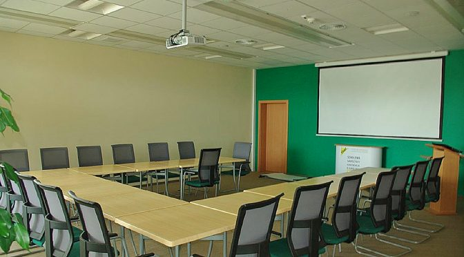 sala konferencyjna w lokalu biurowym do wynajmu Wrocław
