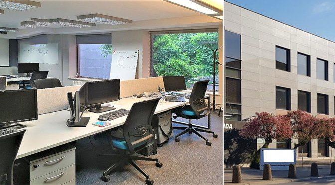 przestronne i komfortowe wnętrze lokalu biurowego na wynajem Wrocław