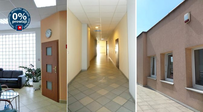 trzy ujęcia wnętrza lokalu biurowego do wynajmu Wrocław Stare Miasto