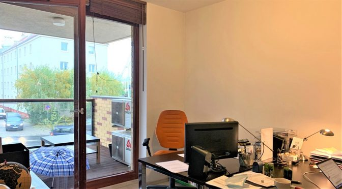 komfortowe wnętrze lokalu biurowego do sprzedaży Wrocław