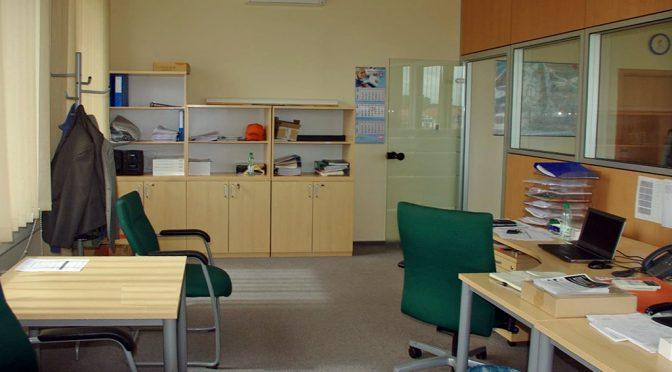zaprojektowane zgodnie z najnowszymi trendami wnętrze lokalu biurowego na wynajem Wrocław