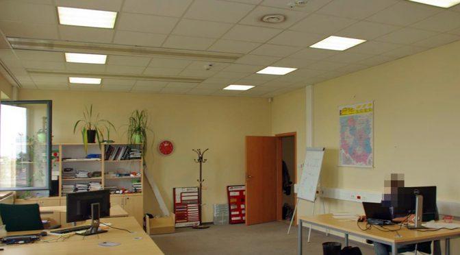 komfortowe wnetrze lokalu biurowego do wynajmu Wrocław