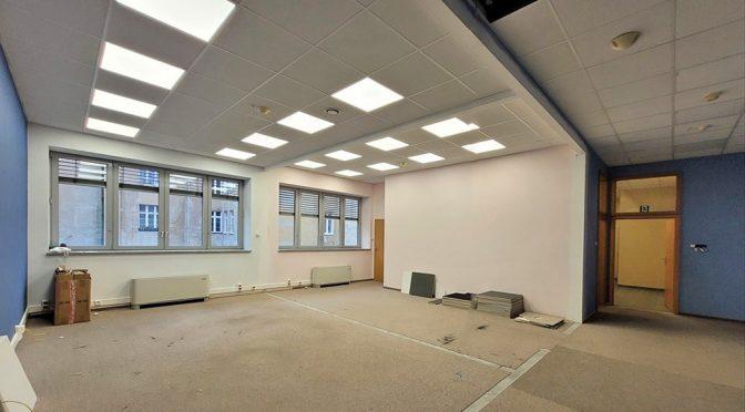 gwarantujące najwyższy komfort pracy wnętrze lokalu biurowego na wynajem Wrocław Stare Miasto